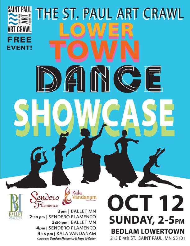 St  Paul Art Crawl Fall 2014 – Lowertown Dance Showcase